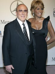 Music producer Clive Davis, who throws annual celebrity