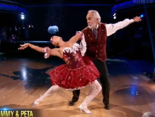 Dancing with the stars narrows to final four