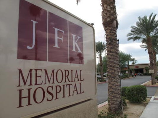 JFK Memorial Hospital entrance