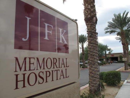 JFK Memorial Hospital in Indio