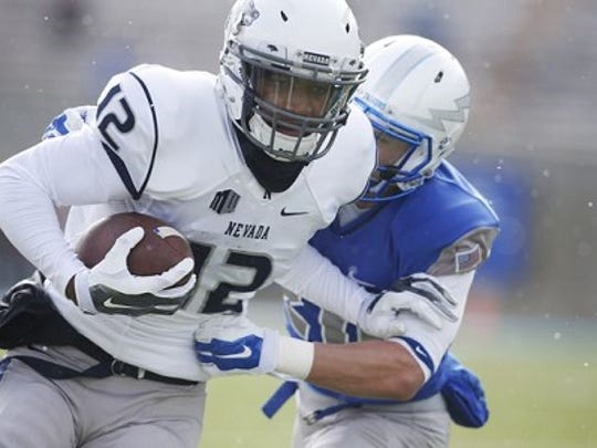 Hasaan Henderson is one of 10 returning starters on offense for Nevada in 2016.