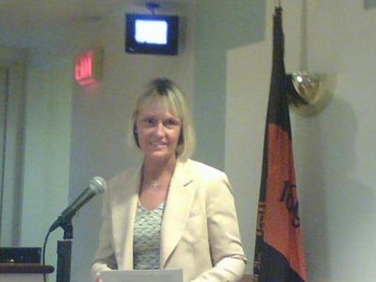 Dobbs Ferry Police Chief Betsy Gelardi