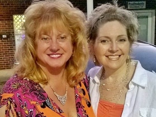 Connie Lamb, left, and Judy Reed are heading up PensaCruise 2015, the first geographical regional auto show in America to have women as the event directors.