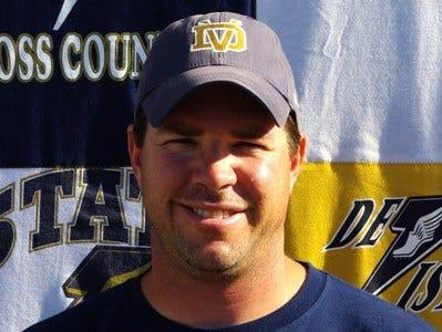 Desert Vista boys cross country coach Chris Hanson.
