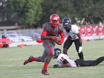 Zaquandre White, a North Fort Myers High School junior running back, rushed for almost 1,000 yards in five games following a six-week suspension.