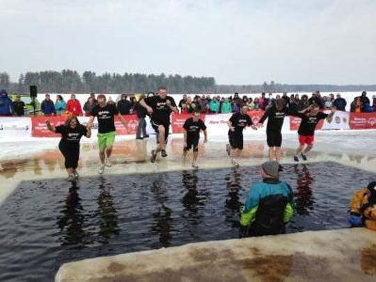 The Special Olympics Wisconsin Polar Plunge will be