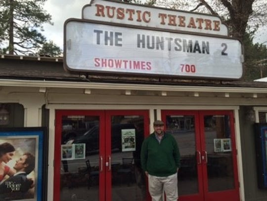 The Rustic Theatre in Idyllwild, owned by Kevin P. Nett, is home of the Idyllwild Festival of Cinema.