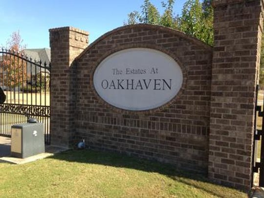 The two most expensive homes - by price - are in The Estates At Oakhaven.