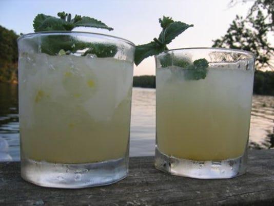 Lemon-Ginger Vodka Ices
