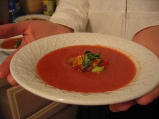 Now is the time to make gazpacho.