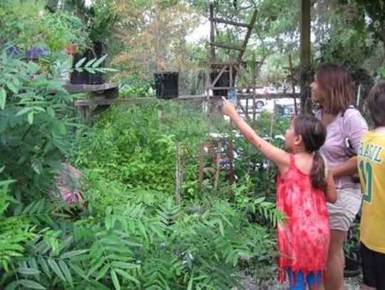 Rotary Park has a 4,200-square-foot Environmental Center