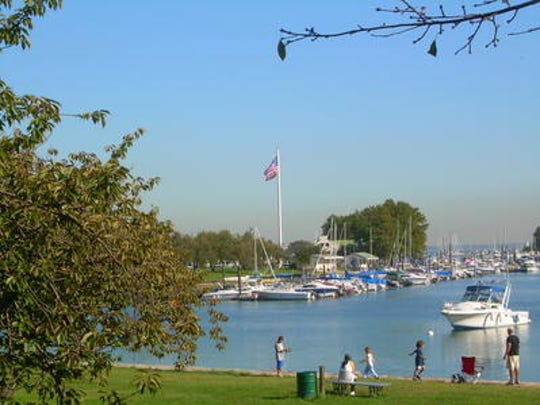 Harbor Island Park in Mamaroneck