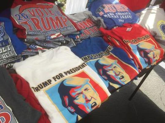 A least one patron of Rolli Porkloin Extraordinaire was unhappy that restaurant owner Jay Josephs, allowed a couple to sell Donald Trump election memorabilia in his parking lot after the election.
