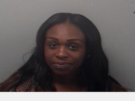 Tasmin Hickman, 23, of Paterson was arrested on New Year's Eve at Willowbrook Mall in Wayne.