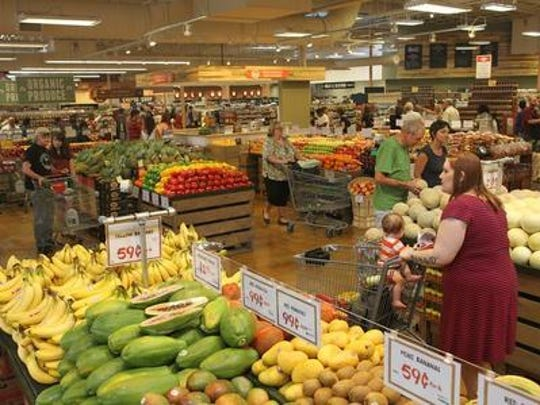 Lucky's Market is set to open Wednesday in West Melbourne. This is from a Lucky's Market opening in Iowa last year.