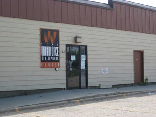 A picture of the Ames unemployment office shortly before it closed in 2011.