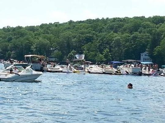 Byram Cove on Lake Hopatcong