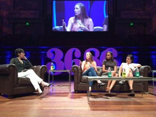 Kelly Hoey interviews Corie Hardee, Jewel Burks and