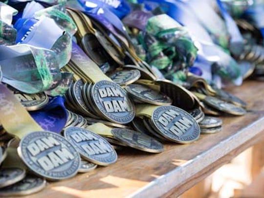 The annual Dam to Dam Half Marathon & 5K was held on