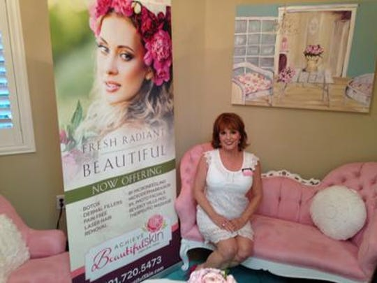 Jeanne Whitman, author and businesswoman, owns Achieve Beautiful Skin in Viera.