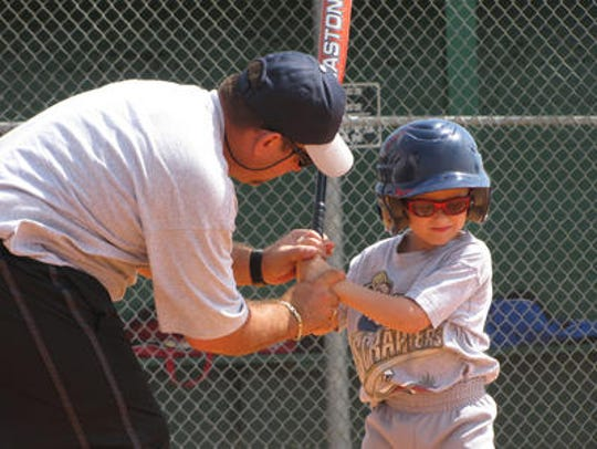 Sign up for recreational baseball begins in August.