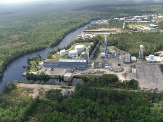 The Sam O. Purdom generating station in Wakulla County,