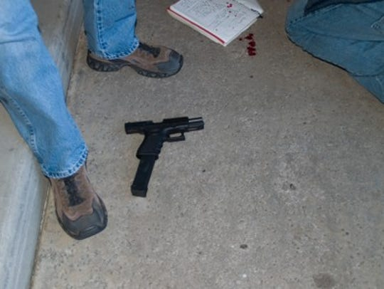 Weapon used by Jared Loughner during the Jan. 8, 2011,