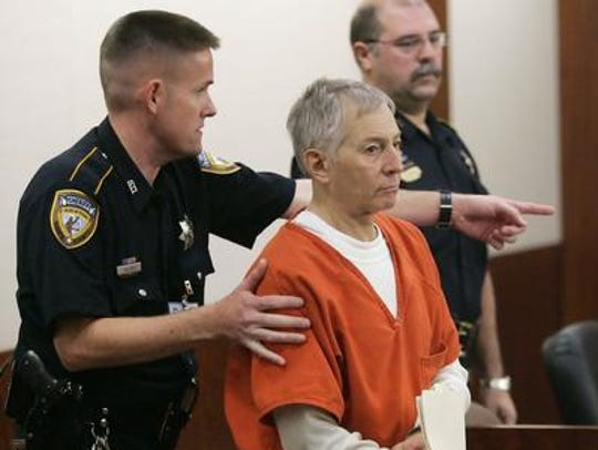 Robert Durst, escorted into a Texas courtroom for a