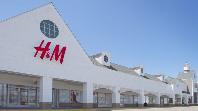H&M, a clothing retailer readying Friday, July 28, 2017, for its grand opening, will occupy 21,000 square feet in Howell Township's Tanger Outlet mall.