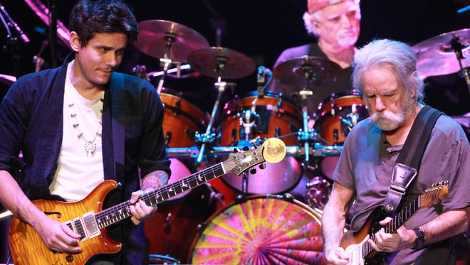 Dead & Company performs at Philips Arena on Tuesday, November 17, 2015, in Atlanta. (Photo by Robb D. Cohen/Invision/AP)