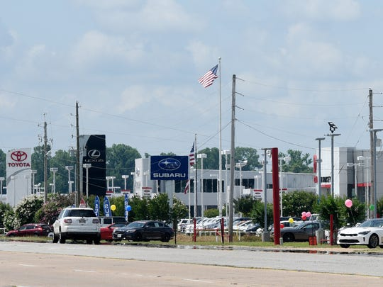 North Bossier is growing creating new homes and shops.