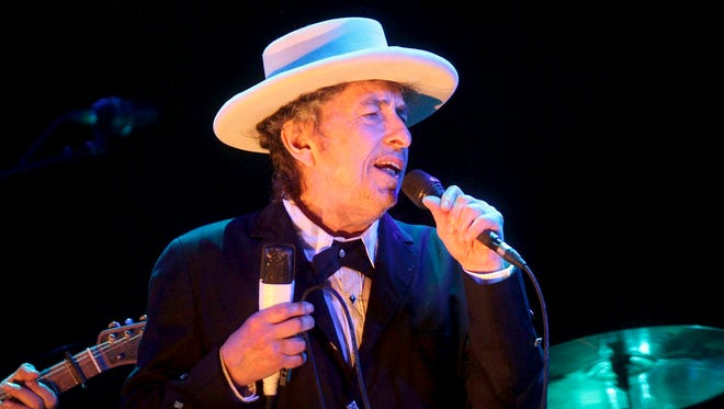 Bob Dylan performs at the Benicassim International Music Festival in Benicassim, Spain.
