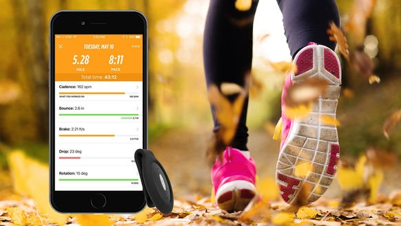 A running coach to help you with form and pace