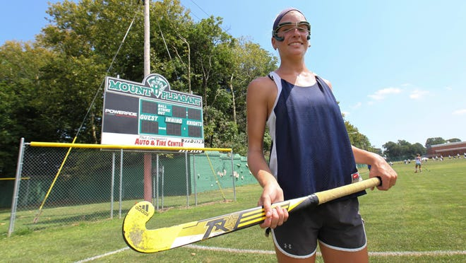 Mount Pleasant senior Kate Walker is one of the state's top returning field hockey players.