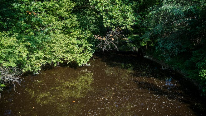 A view of Oil Creek from a bridge on Old Hanover Road photographed on Sept. 7, 2016.