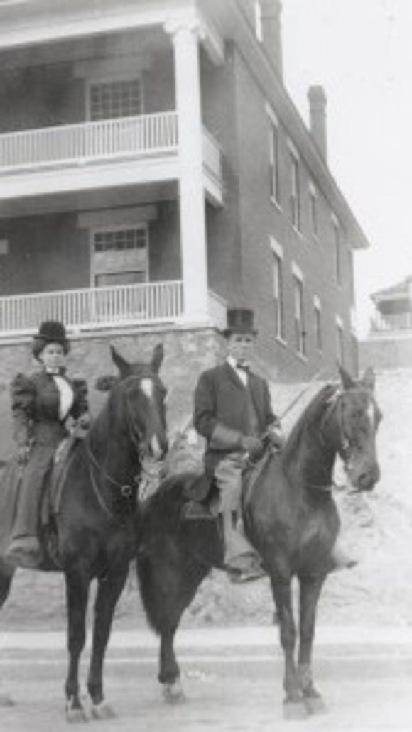 Dr. and Mrs. Love. (Courtesy of the El Paso County Historical Society)