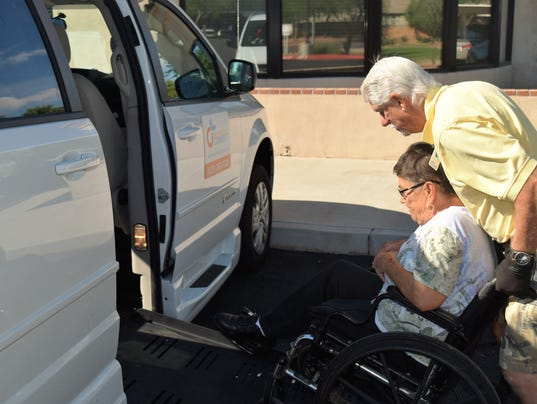 Northwest Valley Connect senior transportation Phoenix Maricopa County