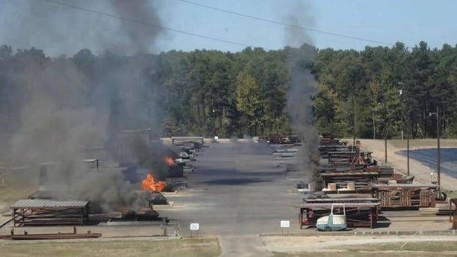 Clean Harbors Colfax, which conducts open burning of toxic wastes at its site near Colfax, has withdrawn its request to be allowed to quadruple the amount of waste it burns. A public hearing that had been set for Feb. 23 has been canceled.
