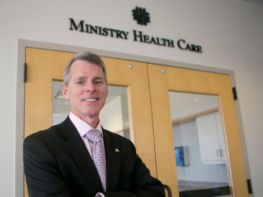 Ministry Health Care president and chief executive