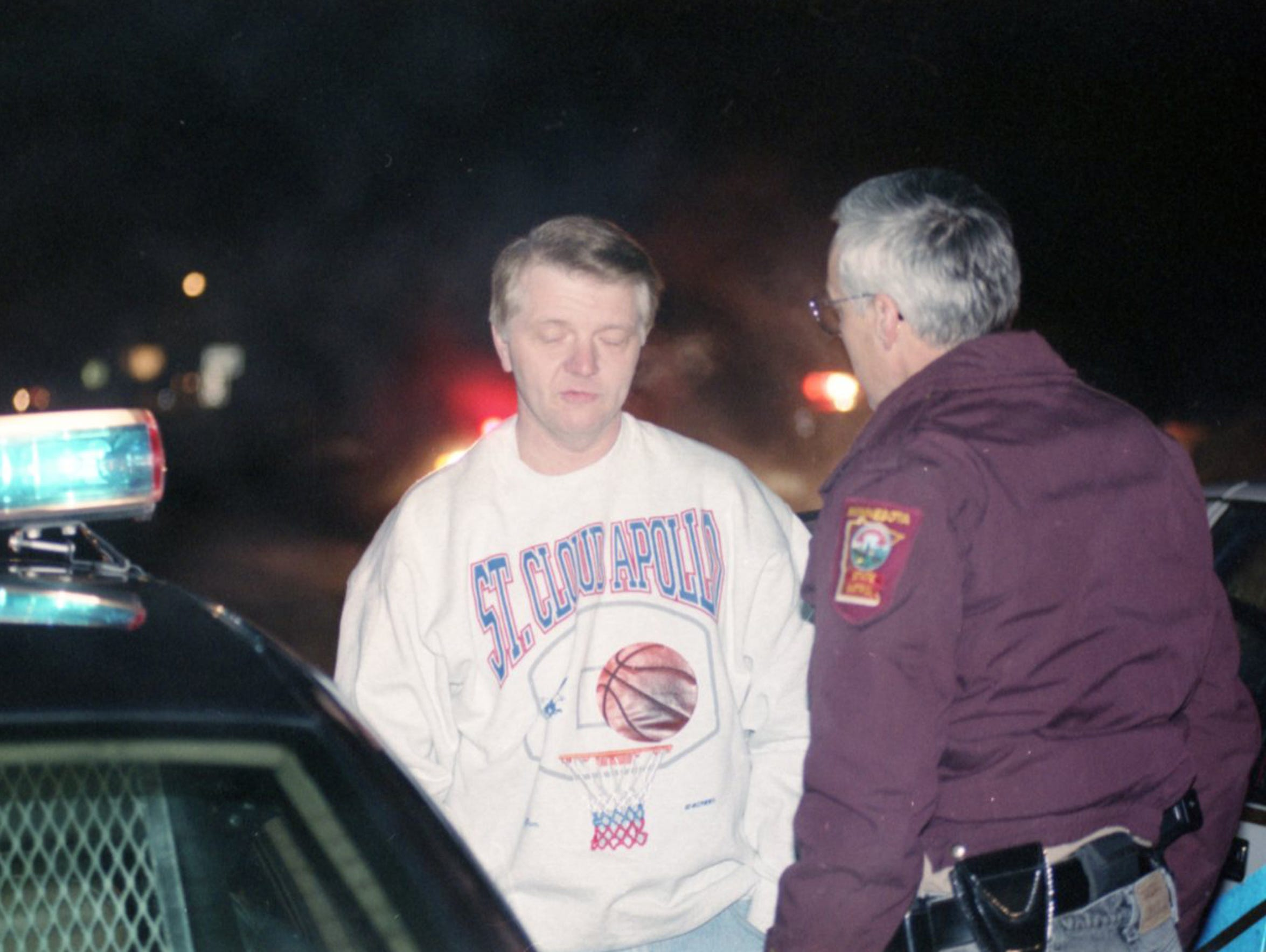 Doug Thomsen is rescued after being taken hostage in