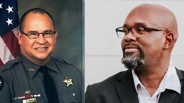 Robert Hare, left, and John Q.Williams, right, will vie for the role of Clarke County sheriff in the November election.