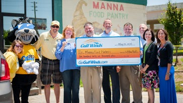 Gulf Winds Federal Credit Union commits $50K matching fund for Manna