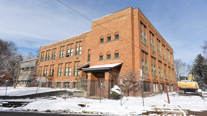 The former Westview Elementary School, orginally built in 1913, is scheduled for demolition starting on Friday.