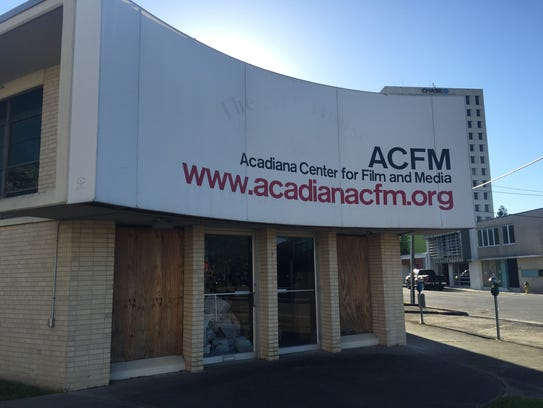The building that once housed Acadiana Open Channel is part of the package of properties to be redeveloped in downtown Lafayette, Louisiana.
