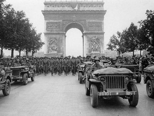 WW2-LIBERATION DE PARIS