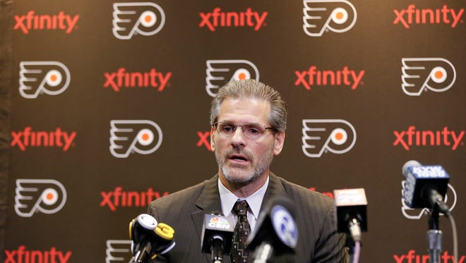 Flyers' general manager Ron Hextall believes in his long-term plan for the franchise and reiterated it this week at the team's developmental camp.