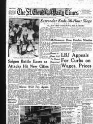 The Vietnam War and Tet Offensive attacks filled the