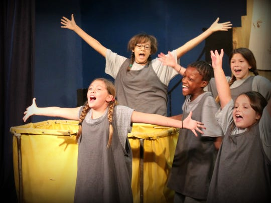 """Annie"" musical presented by the Carlsbad Community Theatre will feature songs such as ""Tomorrow,"" ""It's a Hard Knock Life"" and ""You're Never Fully Dressed Without a Smile."" The musical originated from a comic strip by cartoonist Harold Gray."