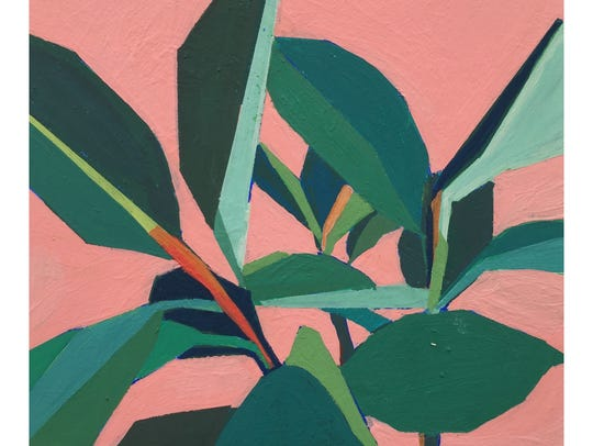 """Alice's Rubber Tree,"" a painting by Springfield artist"
