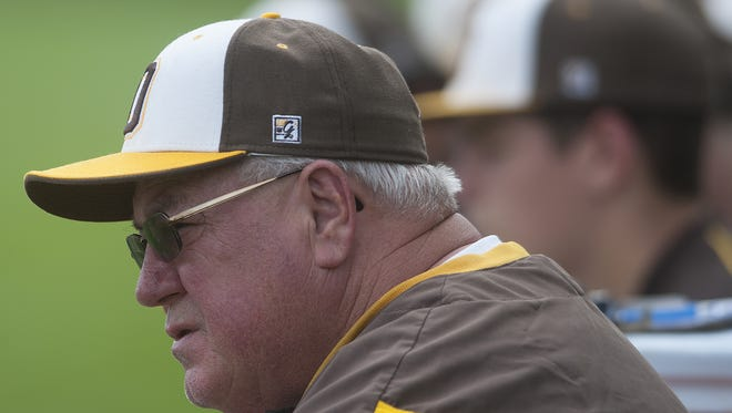 In 41 seasons at Delran, coach Rich Bender has posted a career record of 633-325. He is South Jersey's career wins leader.